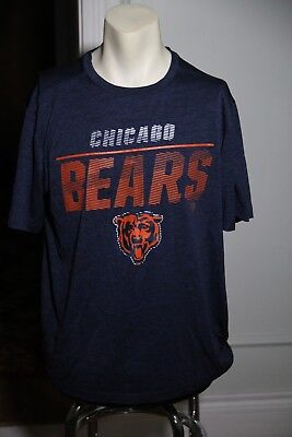45afa0ad Chicago Bears Majestic Cool Base Men's Large t-shirt NFL Licensed Authentic