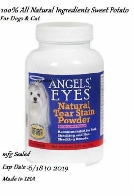 Angels' Eyes Cat / Dog Natural Sweet Potato Formula 100% Natural mfg sealed