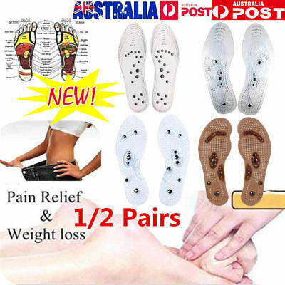 Acupressure Magnetic Massage Foot Therapy Reflexology Pain Relief  VW