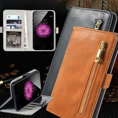 Universal Flip Cover Stand Wallet Card Leather Case For Various Models Phone
