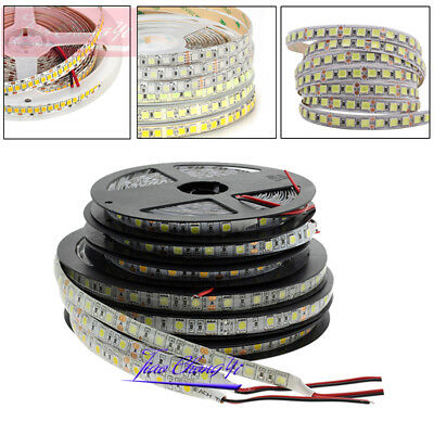 5M LED Flexible Strip Light 3528 2835 3014 5050 5630 5054 RGB Warm White DC12V