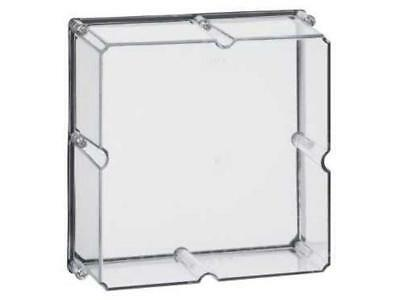 Clipsal INDUSTRIAL ADAPTABLE ENCLOSURE COVER 4-Gang, Transparent *Aust Brand