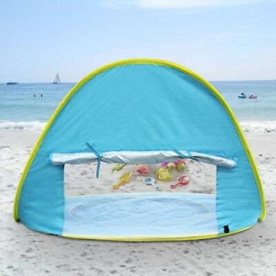 Baby Beach Tent with Sun Shade Portable Infant Pop Up Pool Canopy for Kids Tents & BABY BEACH TENT with Sun Shade Portable Infant Pop Up Pool Canopy ...