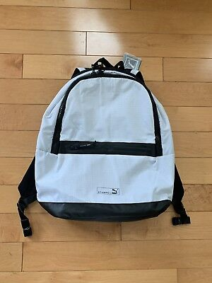 28f82043ab Brand New Puma x Stampd Backpack with tags Unisex White MSRP  170