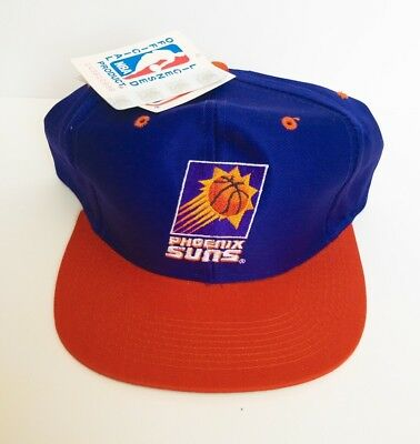 huge selection of 1b803 2562a Phoenix Suns Vintage DEADSTOCK Snapback Hat   Cap LOGO 7 90s NBA Basketball