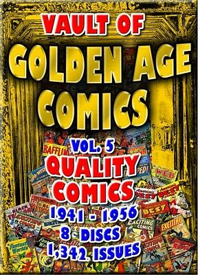 15% off! Golden Age Comics -  Quality  1300+ issues - 8 DVD-ROM boxed