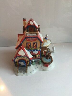 Department 56 North Pole Reindeer Spa Christmas Village