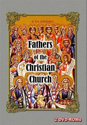 15% off! Fathers of the Early Christian Church Fathers 2 DVD-ROM boxed