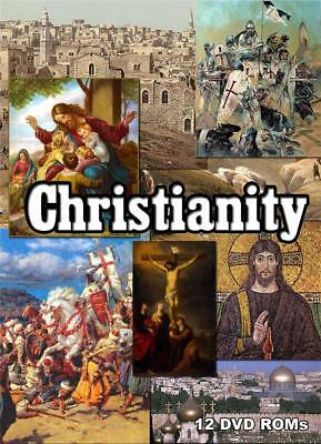 15% off! Christianity - comprehensive 12 DVD-ROM library boxed
