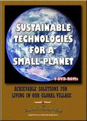 15% off Sustainable Technologies for a small planet -  4 DVD-ROM 1097 titles box