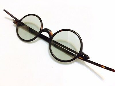 Antique Faux Tortoise Shell Spectacles Vintage Eyeglasses Good Condition 1920s
