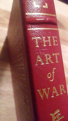 THE ART OF WAR by Sun Tzu - EASTON PRESS LEATHER - RARE LIMITED COLLECTOR'S ED.