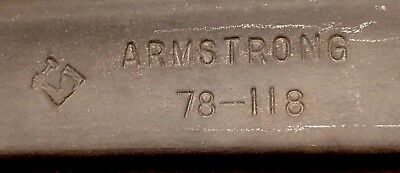 """ARMSTRONG 78-118 Drop Forged 18"""" C Clamp Welding Holding Forcing Clamp"""