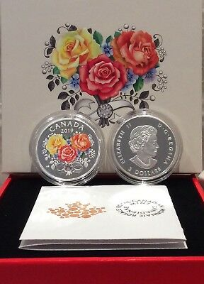 2019 Celebration Love $3 1/4OZ Pure Silver Proof Coin Canada