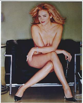 GLOSSY PHOTO PICTURE 8x10 Kim Cattrall Nude Sitting
