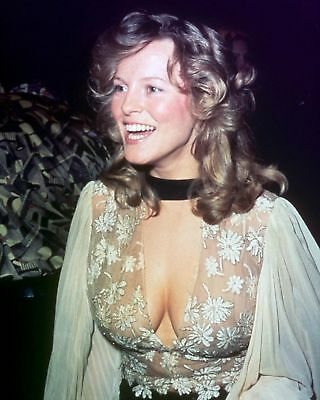 GLOSSY PHOTO PICTURE 8x10 Cheryl Ladd Neckline
