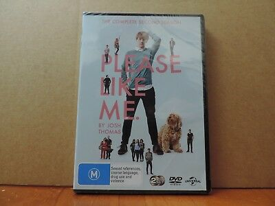 Please Like Me : Series 2 (DVD, 2014, 2-Disc Set) brand new and sealed