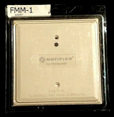 NOTIFIER- ADDRESSABLE MONITORING MODULE- FMM-1, BRAND NEW (FREE Shipping)