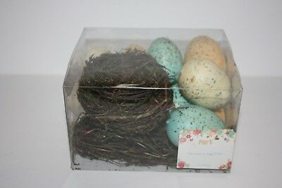 Pier 1 One Imports Decorative Easter Spring Egg Filler Baby Shower 3.1oz