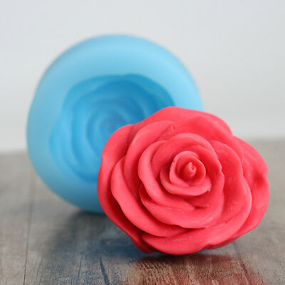 3D Rose Flower Jelly Pudding Molds DIY Soap Silicone Moulds Candle Resin Forms