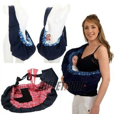 8cd10cfd7c8 Newborn Baby Sling Carrier Ring Wrap Adjustable Soft Nursing Pouch Front  Infant
