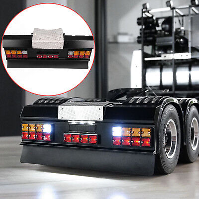 1/14 Truck LESU LED Signal Light Taillight +Rear Bumper for Tamiya Man Scania RC