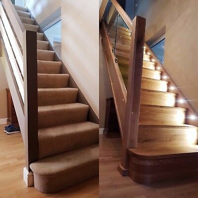 Quotation For Oak Stairs cladding renovation- full staircases