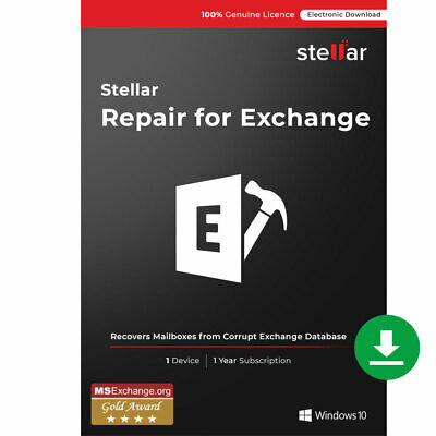 Stellar Repair for Exchange Software Deleted Exchange Mailbox Recovery