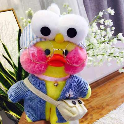 Lalafanfan Cafe Mimi Yellow Duck Costume Plush Toy Valentine's Day Doll Gift