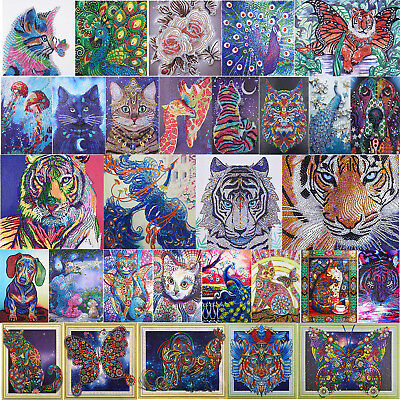 5D DIY Special Diamond Painting Cat Animal Cross Stitch Embroidery Mosaic Decor