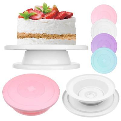 Kitcthen Pastry Cake Spinning Holder Base Turntable Stand Decorating Display
