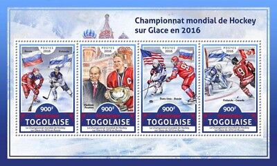 Z08 TG16610a Togo 2016 Ice Hockey MNH Mint