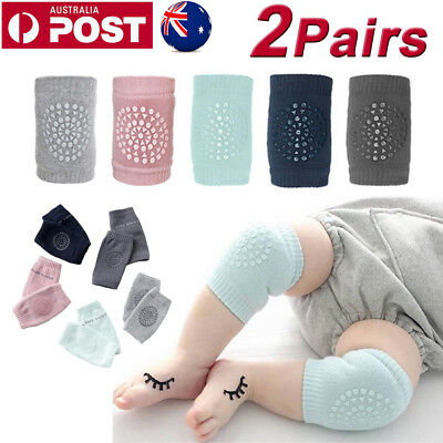 4x Baby Infant Toddler Crawling Knee Pads Safety Cushion Protector Legs Warmer