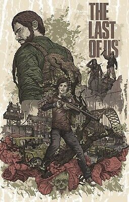 The Last Of Us Poster Print  - Ellie & Joel - Matte Wall Art - Buy 2 Get 1 Free