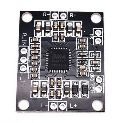PAM8610 Mini Class D Digital Power Amplifier Board 2x15w Dual Channel Stereo