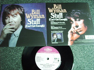 Bill Wyman-Stuff(Can´t get enough) 7 PS-Made in UK-The Rolling Stones