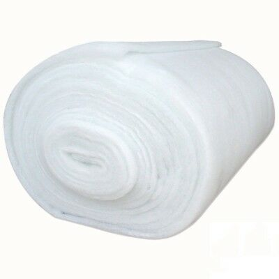 Polyester Wadding Roll 6oz Quilting Upholstery Crafts Padding 27 & 54 Inch Wide