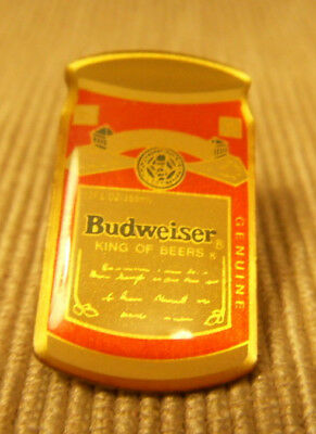 PIN - Bier: Budweiser - Dose / Retro - King of Beers