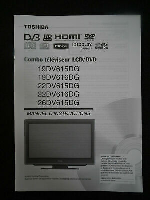 toshiba d vr610 owners manual