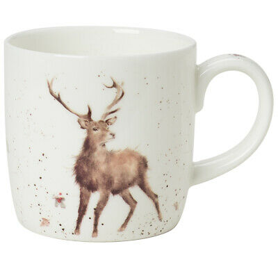 NEW Royal Worcester Wrendale Designs Wild At Heart Mug