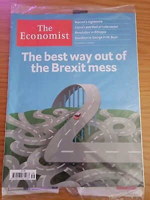 The Economist Magazine December 8th - 14th 2018 New In Wrap - Brexit Coverage