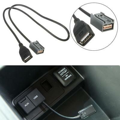 Aux Usb Cable Adapter Female Port For Honda Civic Jazz Cr-V Accord Stereo Mp3