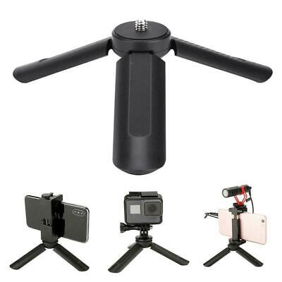 """Mini Phone Holder Mount Smartphone Stand Clip 1/4"""" Screw for Camera Photography"""