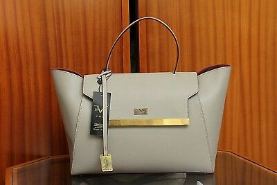 VERSACE 19.69 Women s 100% Leather Sand Beige Large Handbag Free P P New ... 2e49f59c1c0a1