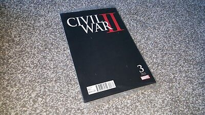 CIVIL WAR II #3 of 8 MIDNIGHT LAUNCH VARIANT (2016) MARVEL EVENT - POLYBAG $4.99