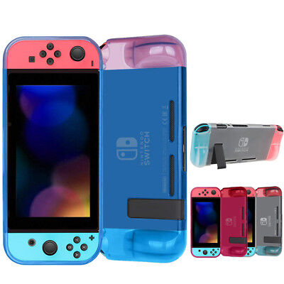 For Nintendo Switch Transparent Clear Shockproof Protective Soft TPU Case Cover