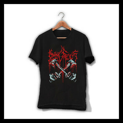 Dying Fetus Axes Black T-Shirt American Death Metal Band Tee Shirt Grindcore