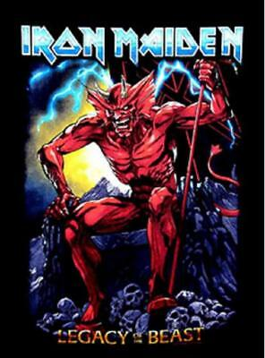 Iron Maiden camiseta hombre Legacy of the beast print Licencia Oficial T-shirt