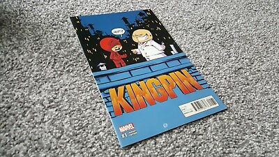 KINGPIN #1 of 5 YOUNG VARIANT (2017) MARVEL SERIES