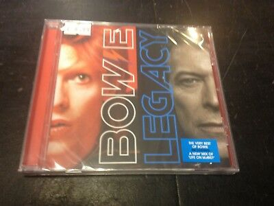 David Bowie - Legacy Cd New Mint Sealed